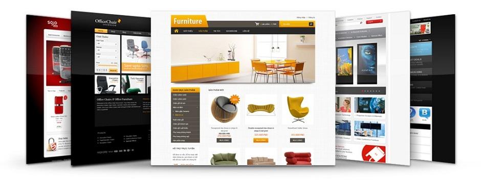 Website mẫu của Nodo